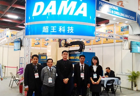 Hakuta is official distributor of DAMA tech.,Ltd products in Vietnam market