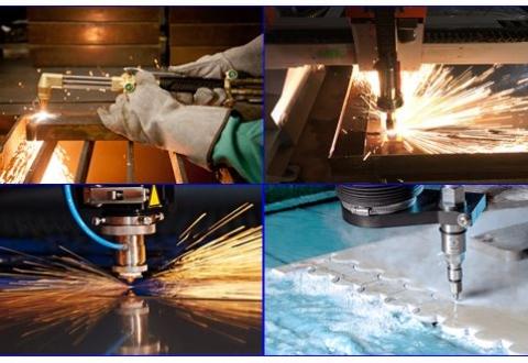 So sánh 4 Công nghệ cắt kim loại