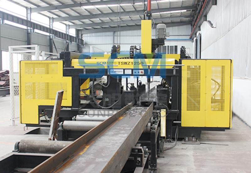 Máy khoan dầm H CNC