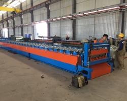 CÔNG HÀ – Đầu tư Máy cán sàn Deck cho Nhà máy mới